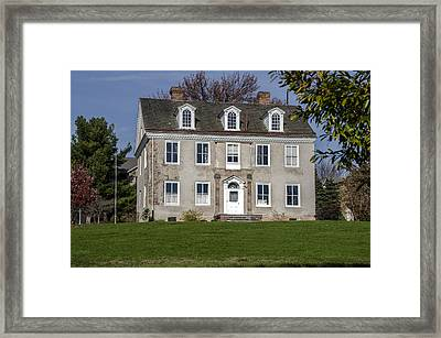 Selma Mansion - Norristown Pa. Framed Print
