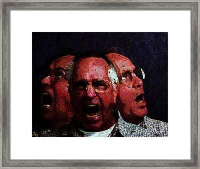 Selves Portrait Framed Print