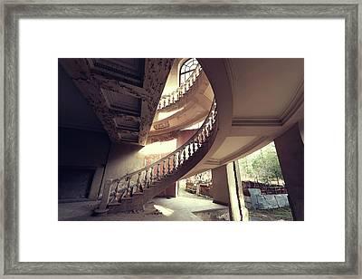 Semi Spiral Framed Print by Svetlana Sewell