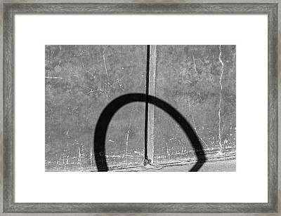 Semicircle Framed Print
