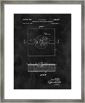 Semiconductor Patent Framed Print