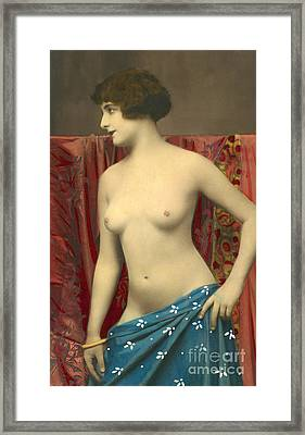 Semin Nude Girl Framed Print by French School