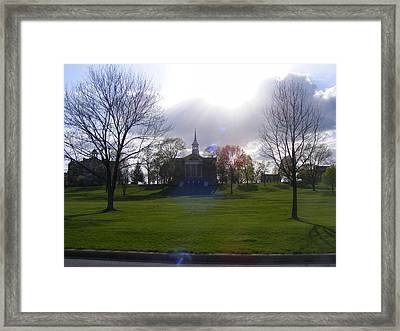 Seminary Ridge Framed Print by Adam Cornelison
