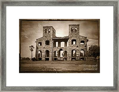 Seminary Ruins Framed Print