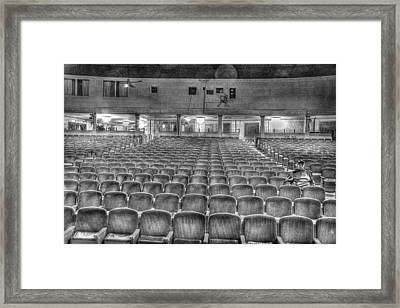 Senate Theatre Seating Detroit Mi Framed Print by Nicholas  Grunas