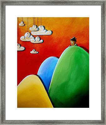 Send In The Clouds Framed Print by Cindy Thornton