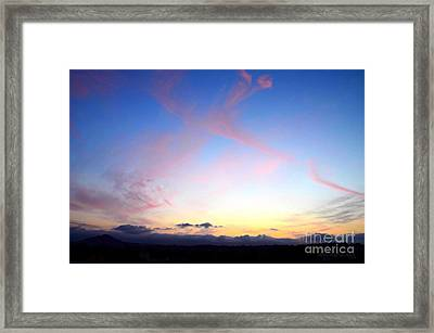 Send Out Your Light Framed Print