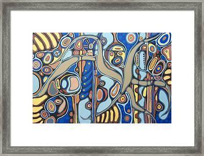 Senderos # 15 Framed Print