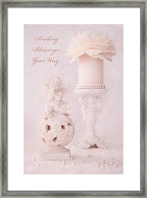 Sending Blessings Your Way Framed Print