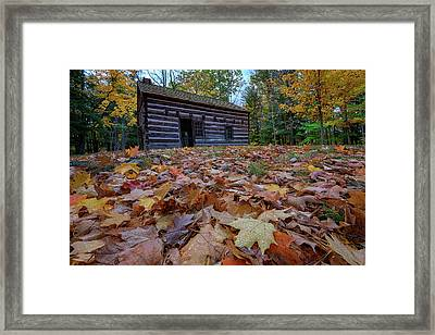 Seneca Council Grounds Framed Print