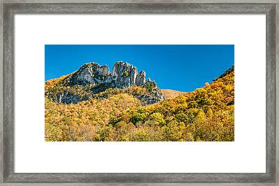 Seneca Ridge Framed Print by Steve Harrington