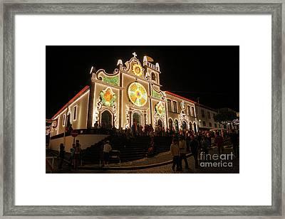 Senhor Da Pedra Fest Framed Print by Gaspar Avila
