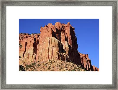 Scenic Highway Twelve, State Of Utah Framed Print by Aidan Moran
