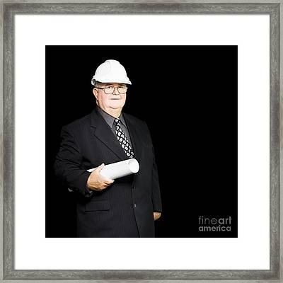 Senior Architectural Firm Partner Framed Print by Jorgo Photography - Wall Art Gallery