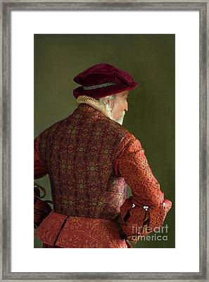 Senior Tudor Man Framed Print