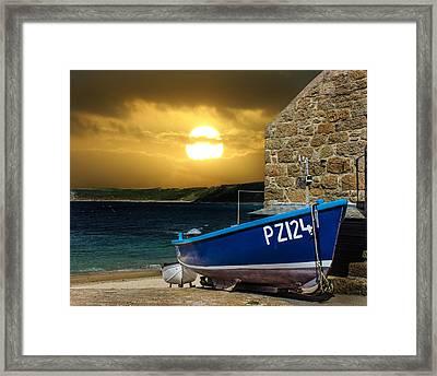 Sennen Cove Cornwall Framed Print by Martin Newman