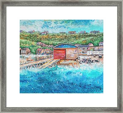 Sennen Cove Framed Print by Diane Griffiths