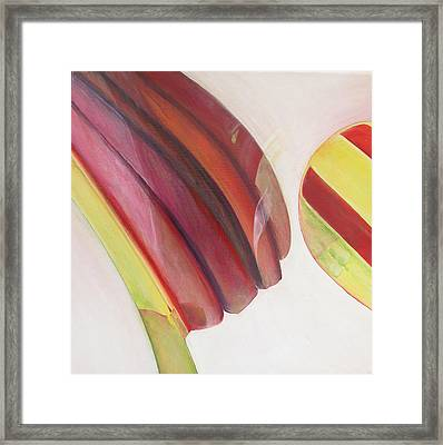 Sens 3 Framed Print by Muriel Dolemieux