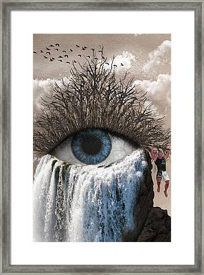Sense Of Sight Framed Print