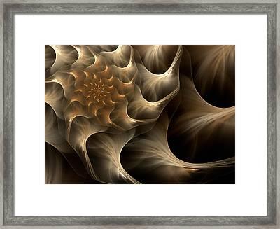 Sensual Satin Framed Print by Georgiana Romanovna