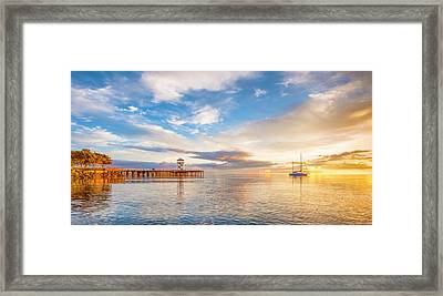 Sensual Sunrise Framed Print