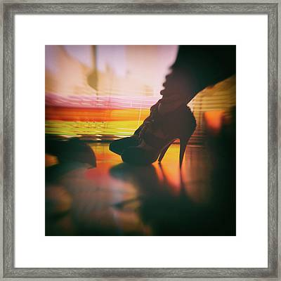 Sensuality Framed Print by Stelios Kleanthous