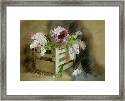 Sent To You With Love Framed Print