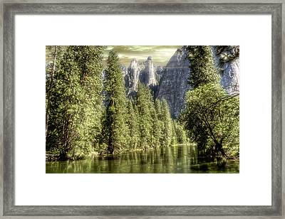 Sentinal Rocks Framed Print by Michael Cleere