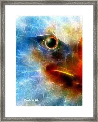 Sentinel Framed Print by Madeline  Allen - SmudgeArt