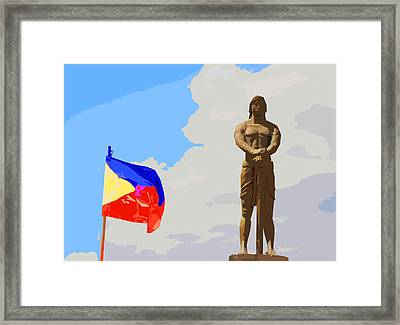 Sentinel Of Freedom Framed Print by Christopher Rowlands
