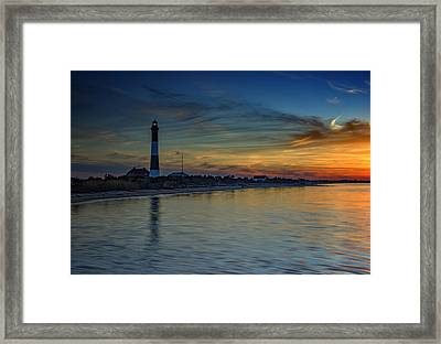 Sentinel Of Great South Bay Framed Print