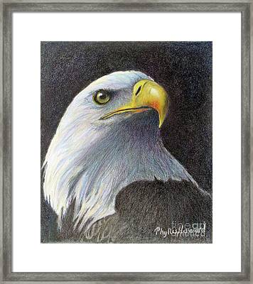 Framed Print featuring the painting Sentinel by Phyllis Howard
