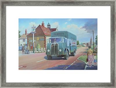 Sentinel Van Flavel Stoves. Framed Print