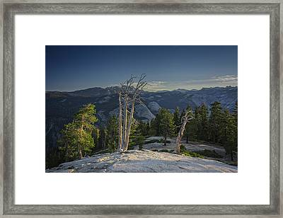 Sentinel's Summit Framed Print by Rick Berk