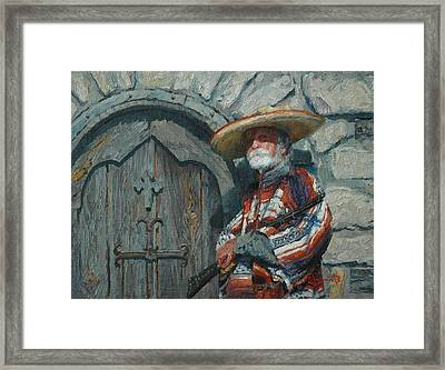 Sentry Framed Print by Jim Clements