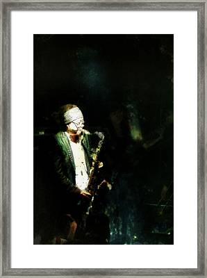 Seoul Saxman Framed Print