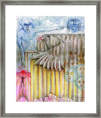 Separate Reality 3 Framed Print by Jim Rehlin