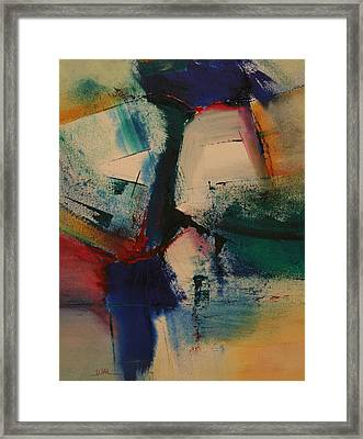 Separation  Anxiety Framed Print by Andy Morris