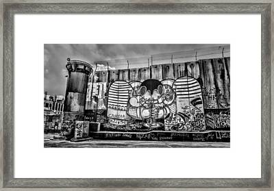 Separation Framed Print by Stephen Stookey