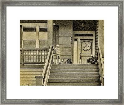 Sepia Framed Print by Photographic Art by Russel Ray Photos