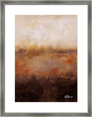 Sepia Wetlands Framed Print by Ruth Palmer