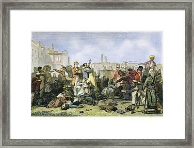 Sepoy Mutiny, 1857 Framed Print by Granger