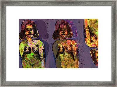Sepration Anxiety Framed Print