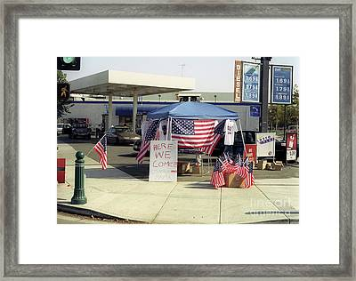 September 11 2001  Framed Print by Jim and Emily Bush