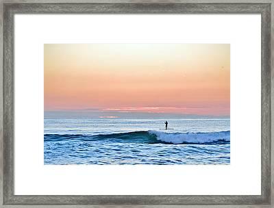 September 14 Sunrise Framed Print by Barbara Ann Bell
