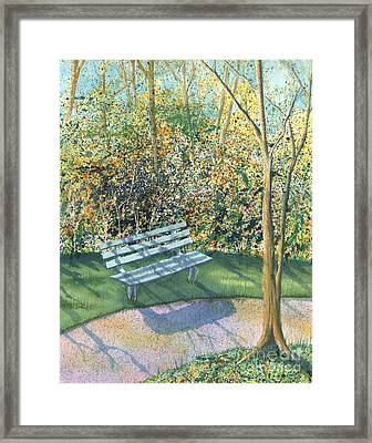 September Afternoon Framed Print