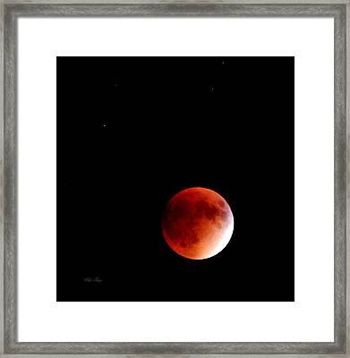 September Bloodmoon 2015 Framed Print
