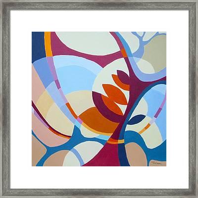 September Framed Print by Carola Ann-Margret Forsberg
