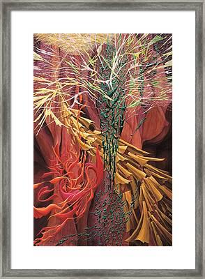 September Framed Print by Charles Cater