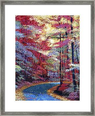 September Impressions Framed Print by David Lloyd Glover